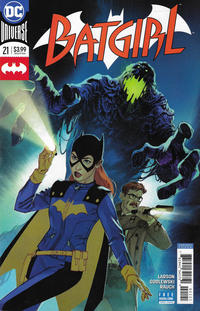 Cover Thumbnail for Batgirl (DC, 2016 series) #21 [Joshua Middleton Variant]
