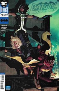 Cover Thumbnail for Batgirl & the Birds of Prey (DC, 2016 series) #20 [Adam Hughes Variant]