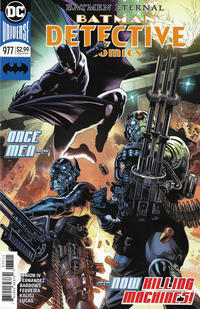Cover Thumbnail for Detective Comics (DC, 2011 series) #977