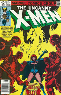 Cover Thumbnail for The X-Men (Marvel, 1963 series) #134 [Newsstand]