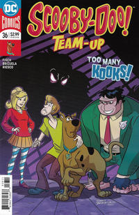Cover Thumbnail for Scooby-Doo Team-Up (DC, 2014 series) #36