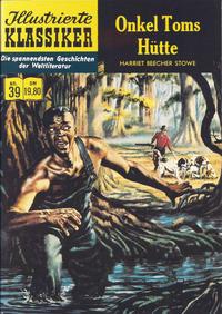 Cover Thumbnail for Illustrierte Klassiker [Classics Illustrated] (Norbert Hethke Verlag, 1991 series) #39 - Onkel Toms Hütte