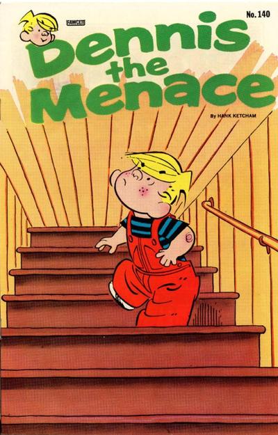 Cover for Dennis the Menace (Hallden; Fawcett, 1959 series) #140