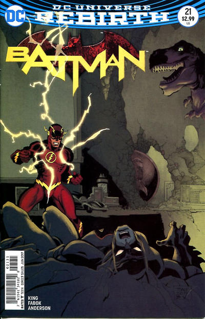 Cover for Batman (DC, 2016 series) #21 [Jason Fabok Lenticular Variant]