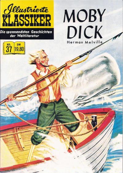 Cover for Illustrierte Klassiker [Classics Illustrated] (Norbert Hethke Verlag, 1991 series) #37 - Moby Dick