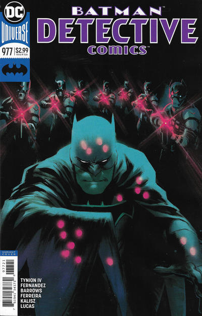 Cover for Detective Comics (DC, 2011 series) #977