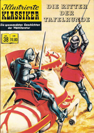 Cover for Illustrierte Klassiker [Classics Illustrated] (Norbert Hethke Verlag, 1991 series) #38 - Die Ritter der Tafelrunde