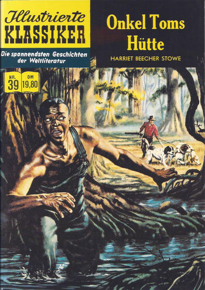 Cover for Illustrierte Klassiker [Classics Illustrated] (Norbert Hethke Verlag, 1991 series) #39 - Onkel Toms Hütte