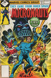 Cover Thumbnail for Micronauts (1979 series) #1 [Whitman]