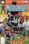Cover for Micronauts (Marvel, 1979 series) #2 [Whitman]
