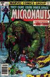 Cover for Micronauts (Marvel, 1979 series) #7 [Newsstand]