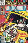 Cover for Micronauts (Marvel, 1979 series) #22 [Newsstand]