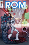 Cover for ROM (IDW, 2016 series) #5 [Subscription Cover A]