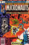 Cover for Micronauts (Marvel, 1979 series) #24 [Newsstand]