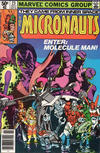 Cover for Micronauts (Marvel, 1979 series) #23 [Newsstand]