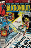Cover for Micronauts (Marvel, 1979 series) #6 [Newsstand]