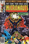 Cover for Micronauts (Marvel, 1979 series) #10 [Newsstand]
