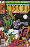 Cover for Micronauts (Marvel, 1979 series) #25 [Newsstand]
