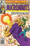 Cover Thumbnail for Micronauts (1979 series) #31 [Newsstand]