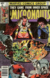 Cover for Micronauts (Marvel, 1979 series) #14 [Newsstand]