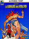 Cover for Pandora (NORMA Editorial, 1989 series) #7 - Rohner: La Sangre del Volcán