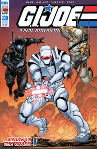 Cover Thumbnail for G.I. Joe: A Real American Hero (IDW, 2010 series) #230 [Rom Subscription Cover]