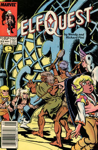 Cover Thumbnail for ElfQuest (Marvel, 1985 series) #22 [Newsstand]