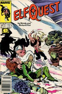 Cover Thumbnail for ElfQuest (Marvel, 1985 series) #24 [Newsstand]