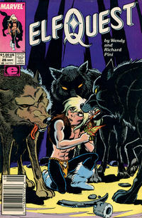 Cover Thumbnail for ElfQuest (Marvel, 1985 series) #26 [Newsstand]