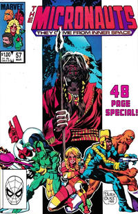 Cover Thumbnail for Micronauts (Marvel, 1979 series) #57 [Direct]