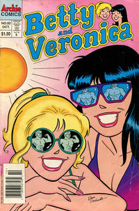 Cover Thumbnail for Betty and Veronica (Archie, 1987 series) #92 [Newsstand]