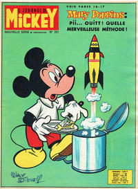 Cover Thumbnail for Le Journal de Mickey (Disney Hachette Presse, 1952 series) #701