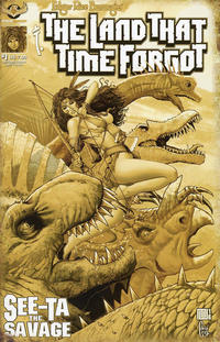 Cover Thumbnail for Edgar Rice Burroughs' The Land That Time Forgot: See-Ta the Savage (American Mythology Productions, 2018 series) #1 [Antique Cover]