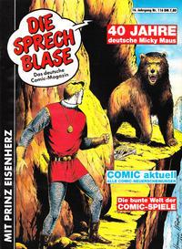 Cover Thumbnail for Die Sprechblase (Norbert Hethke Verlag, 1978 series) #116