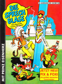Cover Thumbnail for Die Sprechblase (Norbert Hethke Verlag, 1978 series) #130
