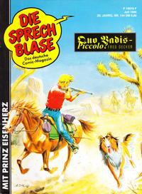 Cover Thumbnail for Die Sprechblase (Norbert Hethke Verlag, 1978 series) #144