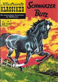 Cover Thumbnail for Illustrierte Klassiker [Classics Illustrated] (Norbert Hethke Verlag, 1991 series) #40 - Schwarzer Blitz