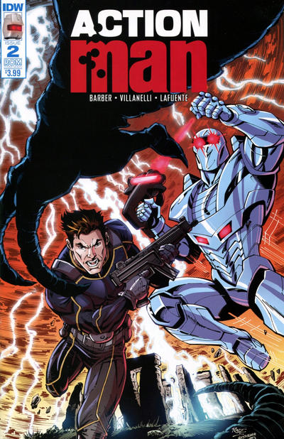Cover for Action Man (IDW, 2016 series) #2 [Rom Subscription Cover]
