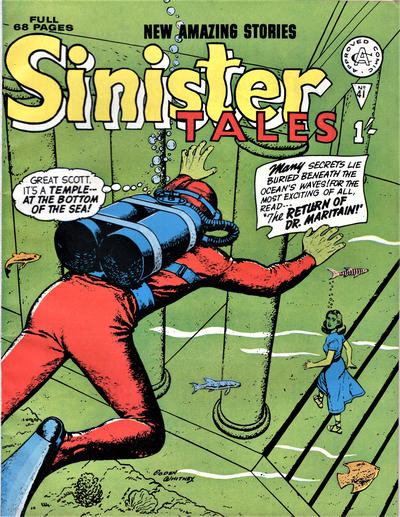 Cover for Sinister Tales (Alan Class, 1964 series) #41