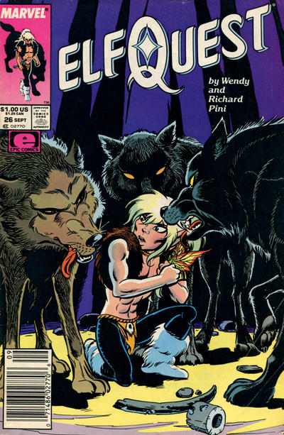 Cover for ElfQuest (Marvel, 1985 series) #26 [Direct]