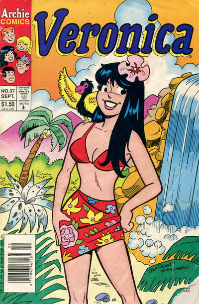 Cover for Veronica (Archie, 1989 series) #37 [Direct Edition]