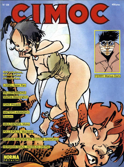 Cover for Cimoc (NORMA Editorial, 1981 series) #128