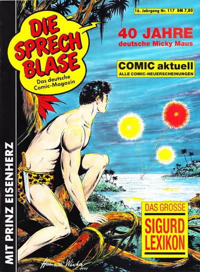 Cover for Die Sprechblase (Norbert Hethke Verlag, 1978 series) #117