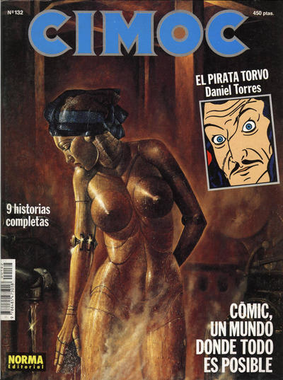 Cover for Cimoc (NORMA Editorial, 1981 series) #132