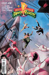 Cover Thumbnail for Mighty Morphin Power Rangers (2016 series) #18 [Regular Cover - Jamal Campbell]