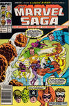 Cover for The Marvel Saga the Official History of the Marvel Universe (Marvel, 1985 series) #17 [Newsstand]