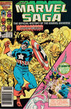 Cover Thumbnail for The Marvel Saga the Official History of the Marvel Universe (1985 series) #12 [Newsstand]