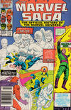 Cover for The Marvel Saga the Official History of the Marvel Universe (Marvel, 1985 series) #11 [Newsstand]