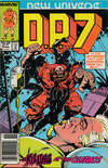 Cover for D.P. 7 (Marvel, 1986 series) #13 [Newsstand]