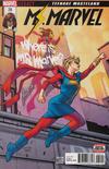 Cover for Ms. Marvel (Marvel, 2016 series) #28